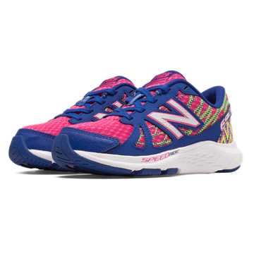 New Balance New Balance 690v4, Bubble Gum Pink with Optic Blue & Green Flash
