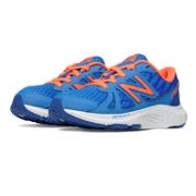 New Balance 690v4, Blue with Orange & White
