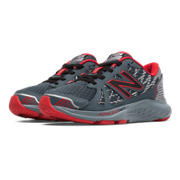 New Balance 690v4, Grey with Red