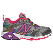 New Balance 695, Grey with Diva Pink & Purple