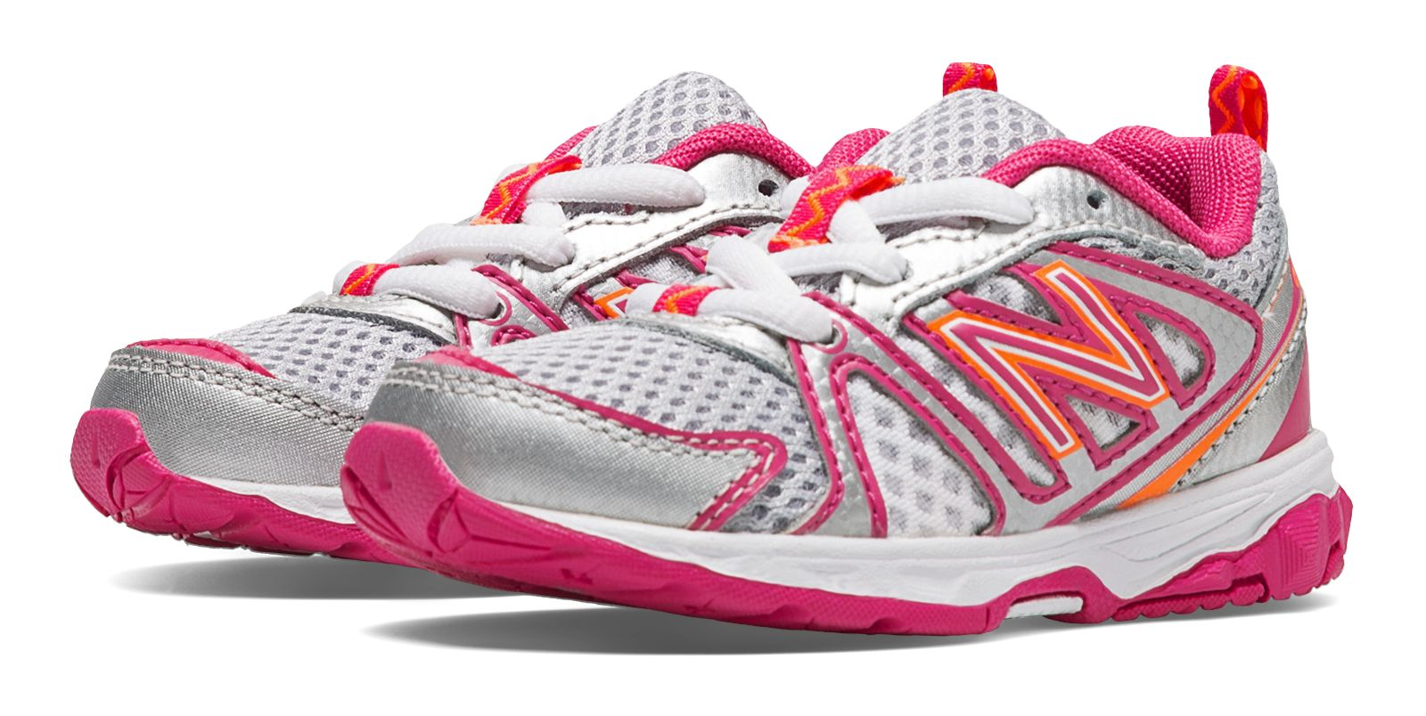 New Balance Infant Girls 696 Shoes Pink