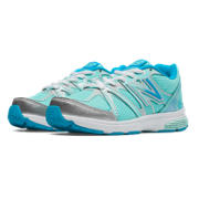 New Balance 697, Artic Blue with Silver & Blue Surf