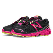 NB New Balance 750v3, Black with Pink Glo