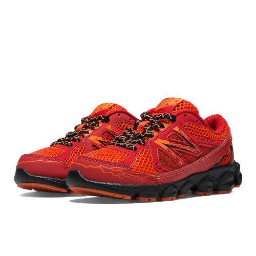 Glow in the Dark 750v3 Kids Pre-School Running Shoes - Red (KJ750ROY)