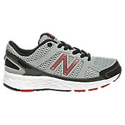 New Balance 750, Silver with Red & Black