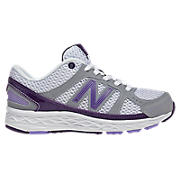 New Balance 750, White with Purplehaze & Grey