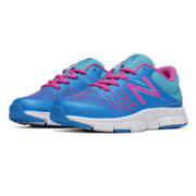New Balance 775, Blue with Purple Cactus Flower