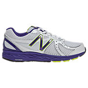 New Balance 790, White with Purple & Green