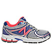 New Balance 860v3, Silver with Purplehaze & Race Red
