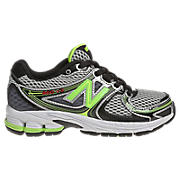 New Balance 860v3, Grey with Lime Green & Black