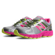 New Balance New Balance 860v4, Silver with Pink Glo & Green Apple