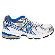 New Balance 860, White with Blue & Black