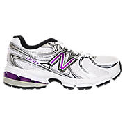 New Balance 860, White with Purple & Black