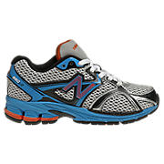 New Balance 880, Black with Blue Atoll & Orange