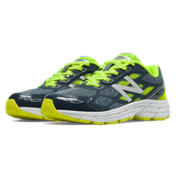 New Balance 880v5, Dark Grey with Yellow