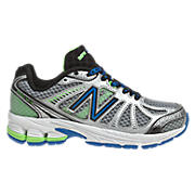 New Balance 880v3, Silver with Blue & Lime