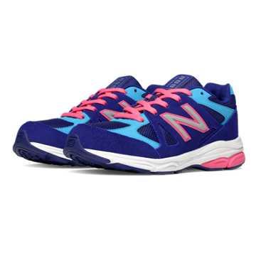 New Balance New Balance 888, Blue with Pink Shock & Blue Atoll