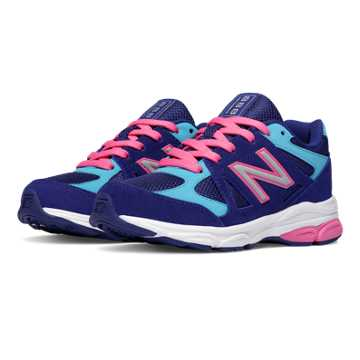 New Balance New Balance 888, Blue with Pink Shock & Blue Atoll