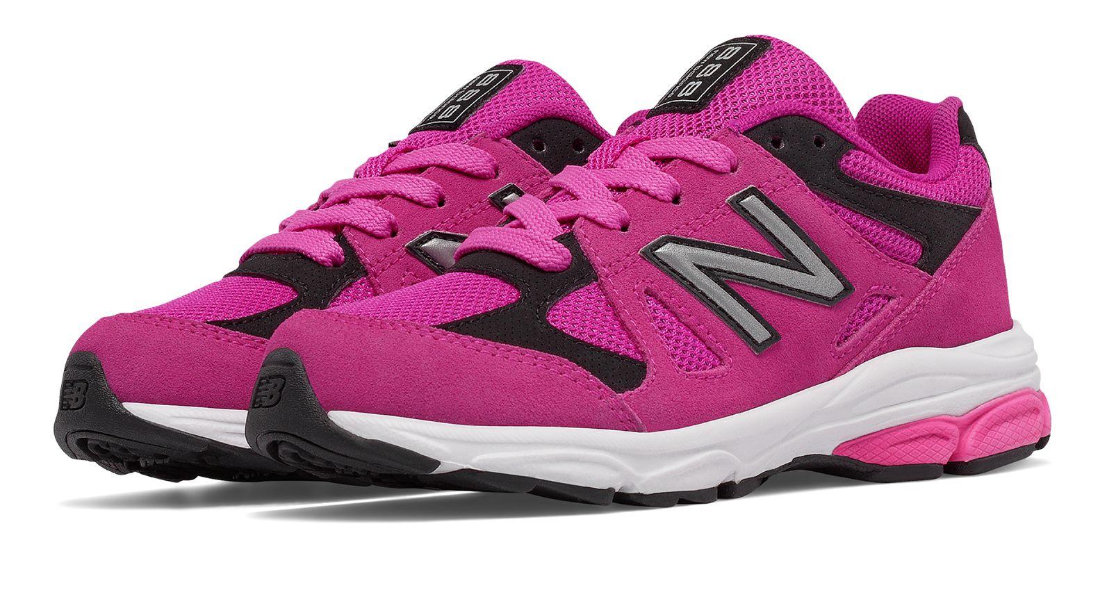 New Balance 888 Grade - school Girls Shoes Pink