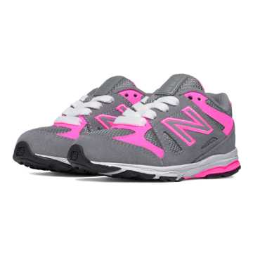 New Balance New Balance 888, Grey with Fluorescent Pink