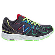 Rainbow 890v3, Dark Grey with Neon Green