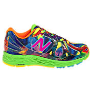 Tie Dye 890v3, Neon Blue with Neon Green & Neon Orange