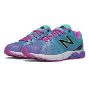 New Balance 890v5 Print, Blue with Green