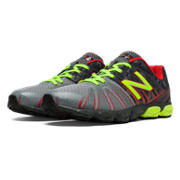 New Balance 890v5, Grey with Red & Lime