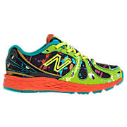 Splatter 890v3, Black with Neon Green & Neon Orange