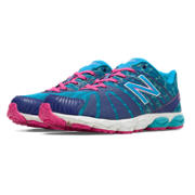 NB New Balance 890v5, Dazzling Blue with Blue Atoll & Exuberant Pink