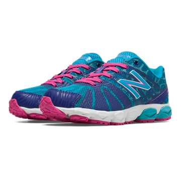 New Balance New Balance 890v5, Dazzling Blue with Blue Atoll & Exuberant Pink