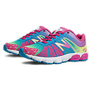 Rainbow 890v4, Pink with Blue & Yellow