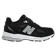 New Balance 990v3, Black with Grey & White