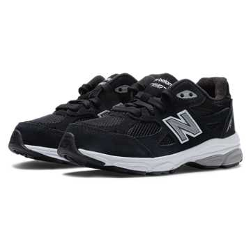 New Balance New Balance 990v3, Black with Grey & White