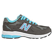 Neon  990v3, Grey with Light Blue & Purple
