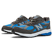 Neon 990v3, Grey with Blue Atoll & Light Grey