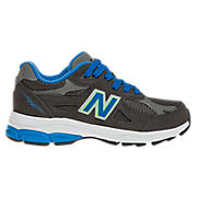 Neon 990v3, Grey with Neon Blue