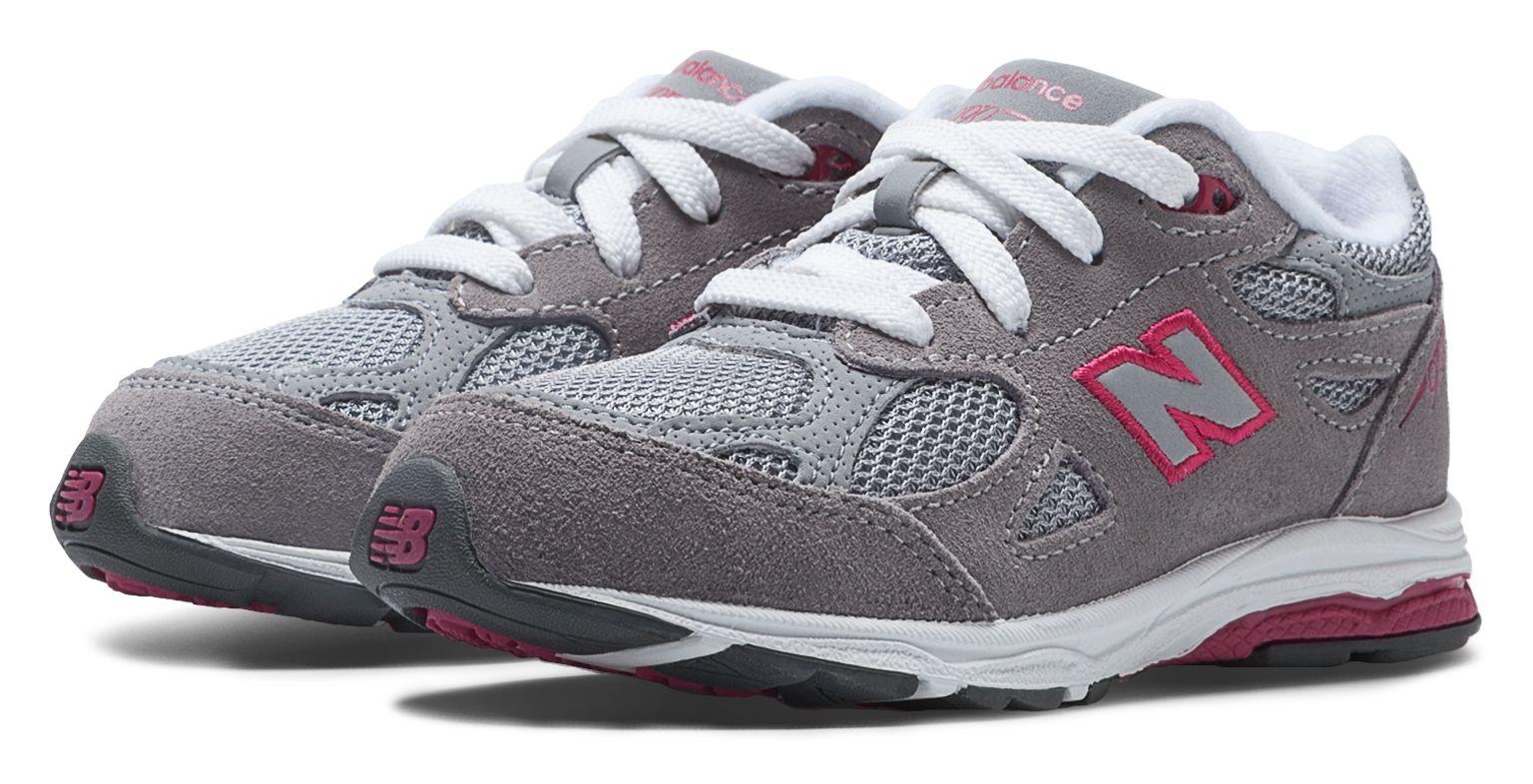 New Balance Kids 990v 3 Shoes Grey