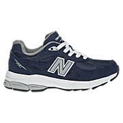 New Balance 990v3, Navy with Grey & White