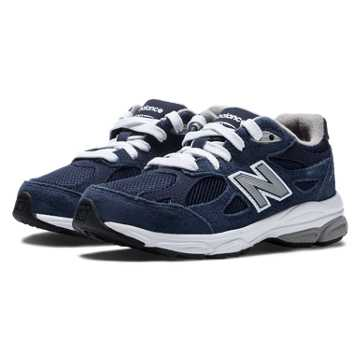 New Balance New Balance 990v3, Navy with Grey & White