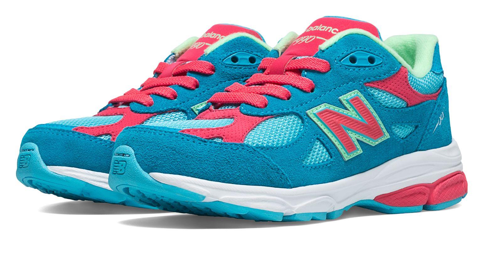 New Balance Kids Sportista 990v 3 Shoes Blue