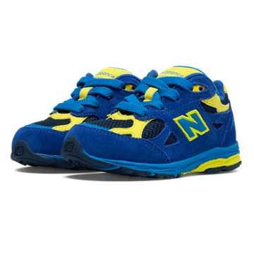 New Balance New Balance 990v3, Blue with Navy & Yellow