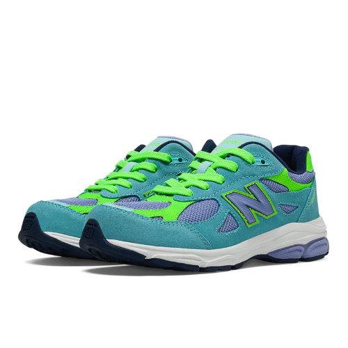 New Balance 990v3 Kids Grade School Running Shoes