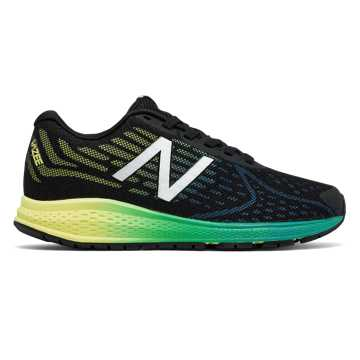 New Balance Vazee Rush v2, Black with Yellow & Blue