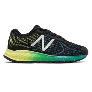 New Balance Vazee Rush v2, Black with Yellow & Cadet Blue
