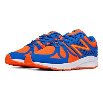 New Balance Vazee Rush, Orange with Blue