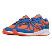 NB Vazee Rush, Orange with Blue