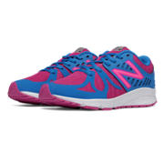 NB Vazee Rush, Purple Cactus Flower with Blue