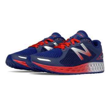 New Balance Fresh Foam Zante v2, Blue with Orange