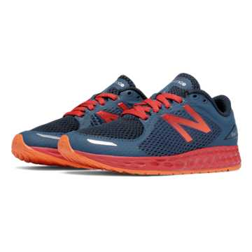 New Balance Fresh Foam Zante v2, Grey with Red & Dark Grey